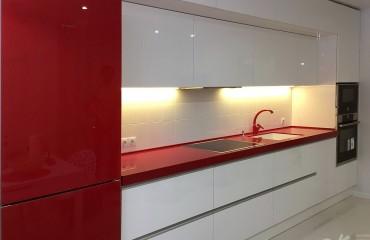 Кухня ИНТЕГРА red