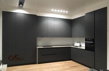 Кухня Интегра Антрацит